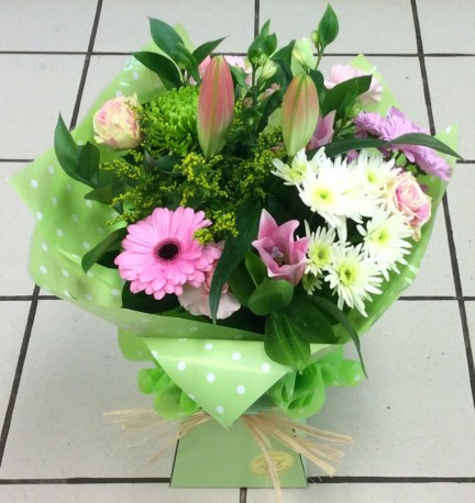 Boxed Hand Tied Bouquet