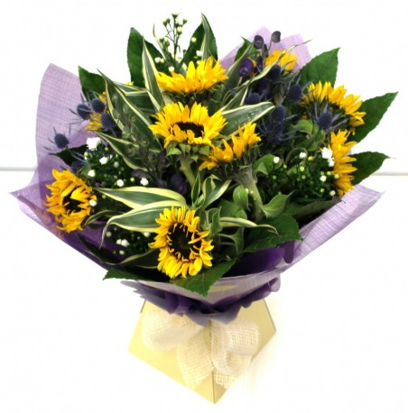 Sunflower Hand-Tied