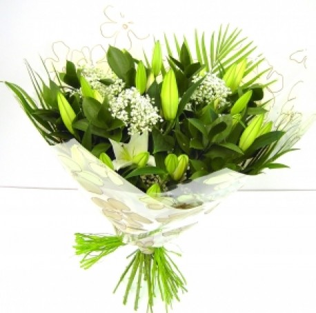 Lily Wrap Bouquet