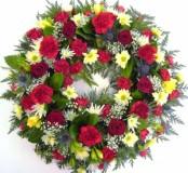 14 inch Mixed Wreath