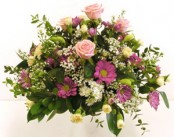 Pink Posy in oasis